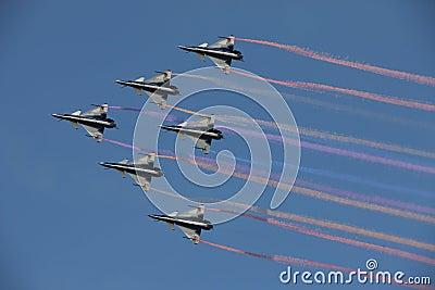 J-10B in the sky