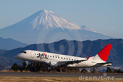 J-AIR ERJ 170 Editorial Photography