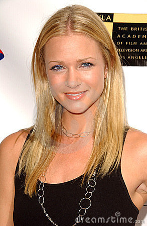 A. J. Cook, Editorial Stock Image