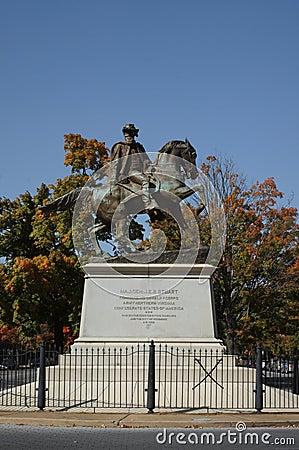 J.E.B. Stuart Memorial Statue