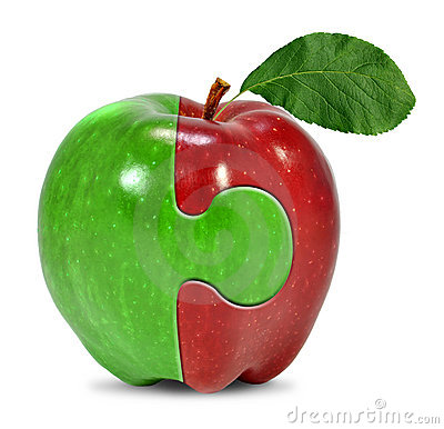 Jabłczany kolaż