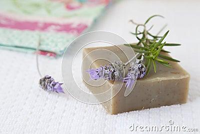 Jabón hecho en casa