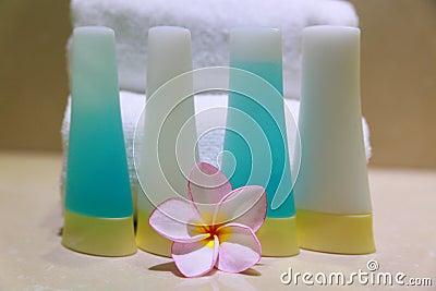 Jabón y frangipani