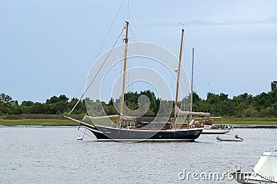 Jacht in de Haven