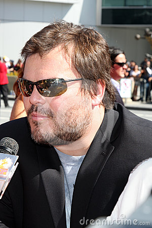 Jack Black Editorial Image