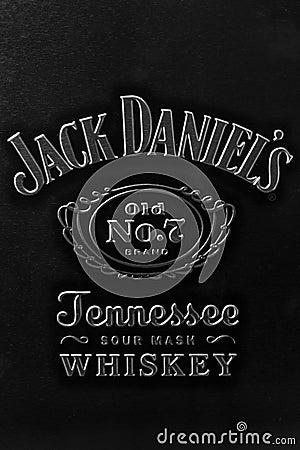 Jack Daniel s mark Editorial Stock Photo