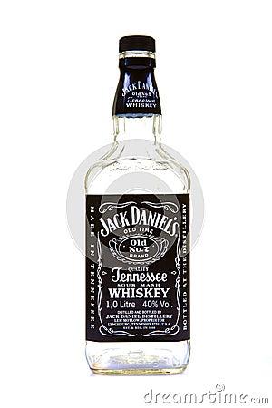 Free Jack Daniel Whiskey Bottle Royalty Free Stock Images - 16842299