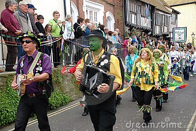 Jack In The Green festival, Hastings Editorial Stock Image