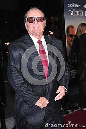 Jack Nicholson Editorial Stock Image