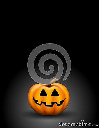 Jack O Lantern in Dark