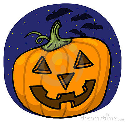 Jack-o-lantern illustration