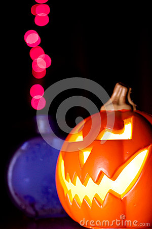 Jack-O-Lantern and Magic Potion