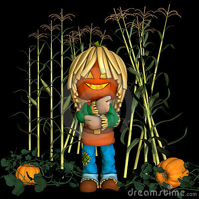 Jack O  Lantern Scarecrow 2