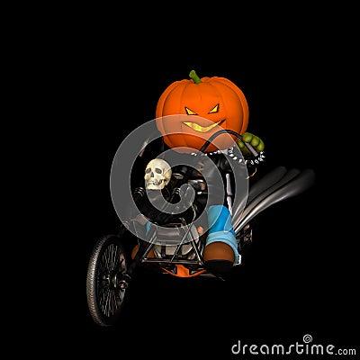 Jack O  Lantern Scarecrow Chop
