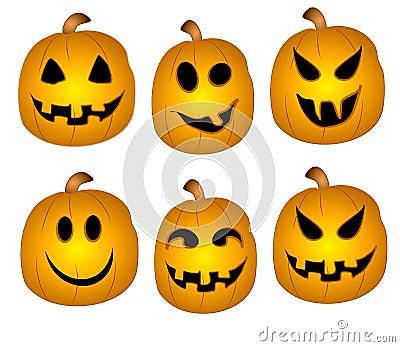 jack o lanterns clip art stock images image 3033694 scary pumpkin faces clipart creepy pumpkin clipart
