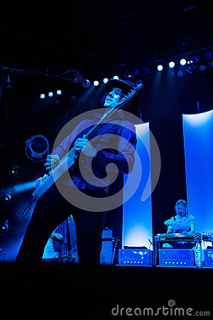 Jack White in Concert Editorial Image