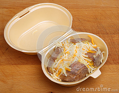 Jacket or Baked Potato with Cheese