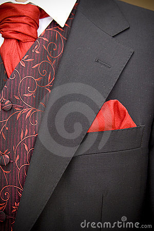 Jacket of groom