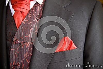 Jacket of groom