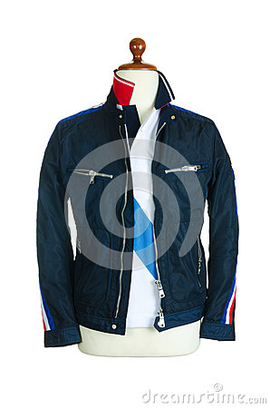 Jacket isolerade