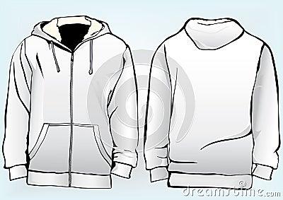Jacket Or Sweatshirt Template Stock Photography Image