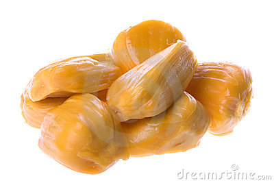 Jackfruits Isolated