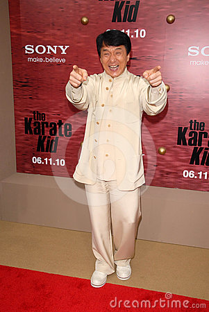 Jackie Chan Editorial Stock Image