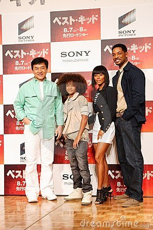 will smith family images. JACKIE CHAN AND WILL SMITH