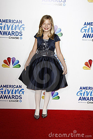 Jackie Evancho Editorial Stock Photo