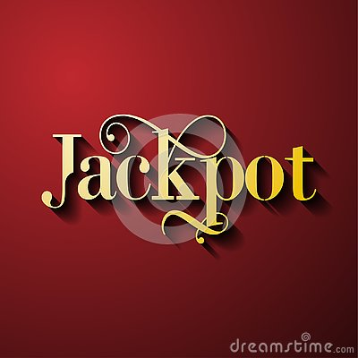Free Jackpot - Gambling Game Bright Banner With Winning. Stock Images - 139383864