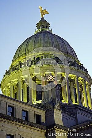 Jackson, Mississippi - State Capitol Building