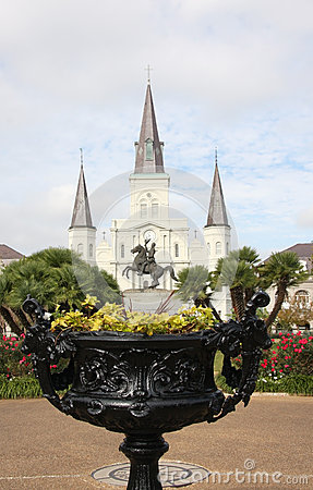 Free Jackson Square In New Orleans Royalty Free Stock Images - 28404439