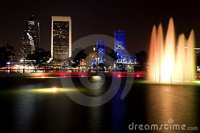 Jacksonville Florida (night)