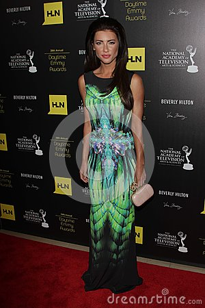 Jacqueline MacInnes Wood at the 39th Annual Daytime Emmy Awards, Beverly Hilton, Beverly Hills, CA 06-23-12 Editorial Stock Image