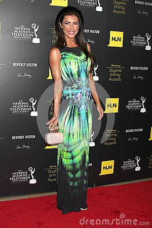 Jacqueline MacInnes Wood arrives at the 2012 Daytime Emmy Awards Editorial Photo