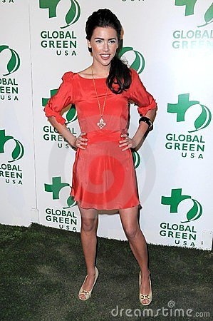 Jacqueline MacInnes Wood at Global Green USA s 6th Annual Pre-Oscar Party. Avalon Hollywood, Hollywood, CA. 02-19-09 Editorial Stock Image