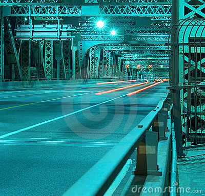 Free Jacques Cartier Bridge, Montreal, Canada. Royalty Free Stock Photography - 757647