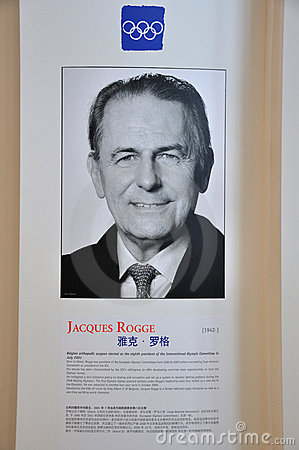 Jacques Rogge Editorial Image