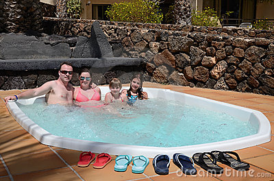 Jacuzzi for whole family