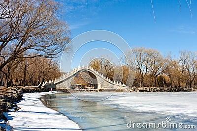 The Jade Belt Bridge in Beijing,China