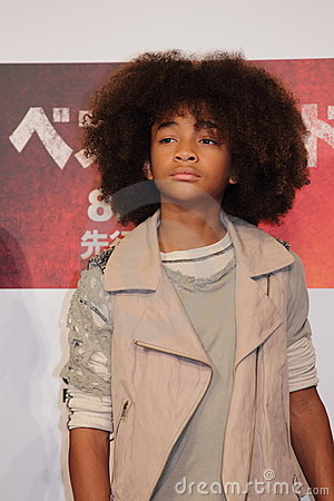 Jaden Smith in Karate Kid (Best Kid) Editorial Image