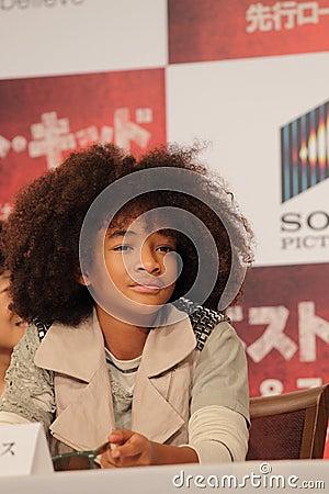 Jaden Smith in Karate Kid (Best Kid) Editorial Photo