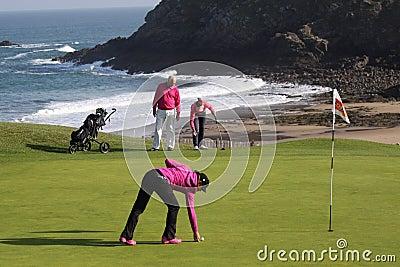 JadeScheaffer (FRA) Dinard golf cup 2011 Editorial Image