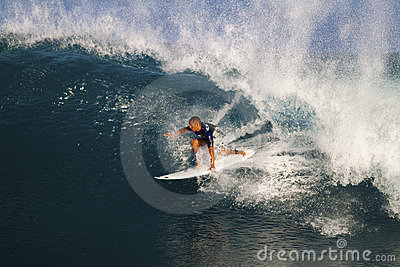 Jadson Andre of Brazil, Surfing at Off the Wall Editorial Stock Image