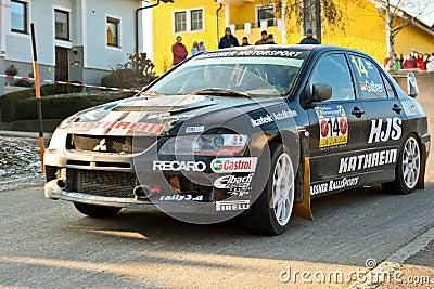 Jaenner-Rallye 2009 Editorial Photography
