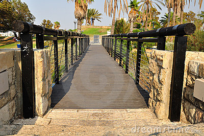 Jaffa bridge.