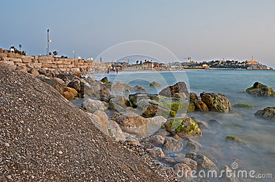 Jaffa coast line