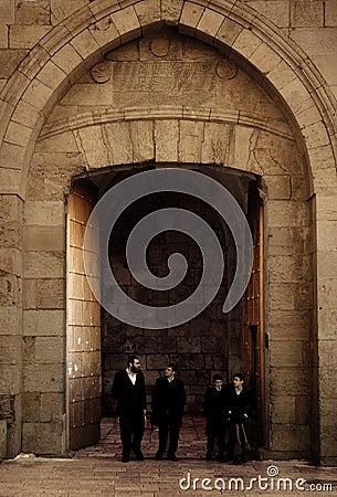 Jaffa Gate Editorial Photo