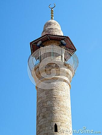 Jaffa minaret