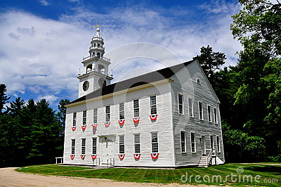 Jaffrey Center, NH: 1775 Original Meeting House